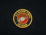 US Marine Corp Veteran Patch